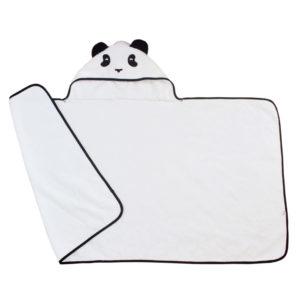 panda hooded towel toddler