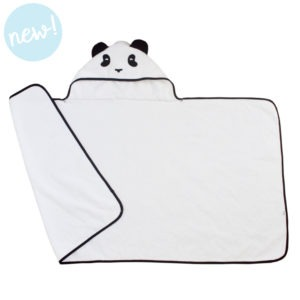 panda hooded towel toddler