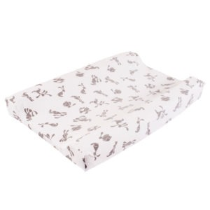 bunny changing mat cover large
