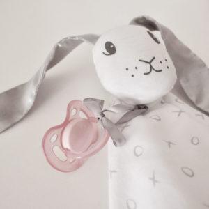 bunny doo doo blanket
