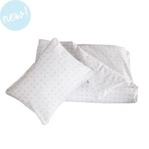 grey xoxo duvet cover + pillowcase