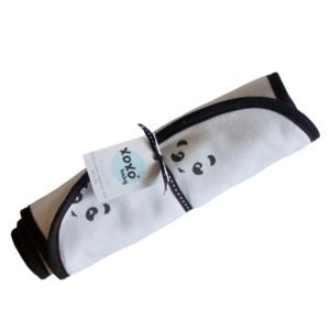 panda burp cloth
