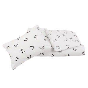 panda duvet cover + pillow case