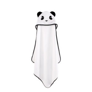 panda hooded towel baby