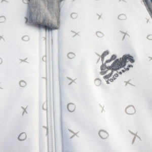 light grey xoxo travel sleeping bag