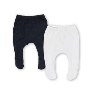 black + white leggings pair