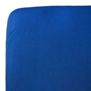 denim blue single bed fitted sheet