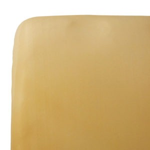 mustard single bed fitted sheet