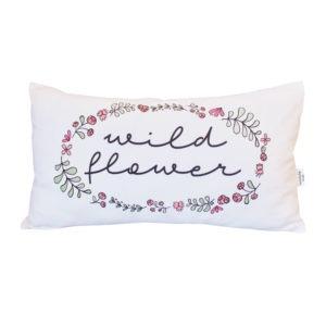 wild flower scatter cushion