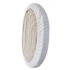white fitted sheet for stokke mini sleepi