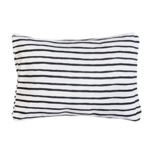 black stripe pillowcase