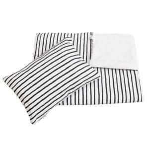 black stripe duvet set