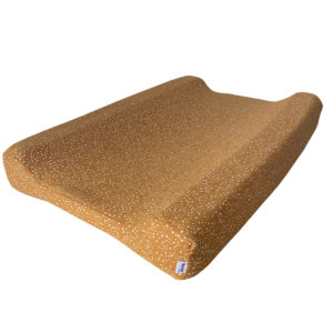 terra-cotta speckles changing mat cover
